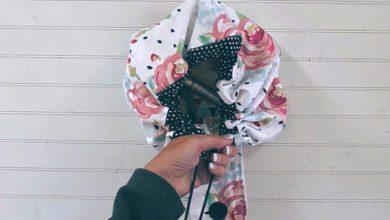 تصویر از آموزش دوخت کیف آرایش پارچه ای با سادهرتین روش