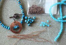 تصویر از آموزش گام به گام ساخت دستبند مهره ای