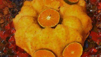 تصویر از طرز تهیه کیک نارنگی