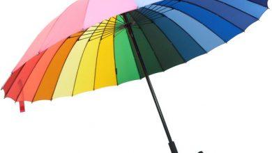 تصویر از تعبیر خواب چتر رنگی – معنی دیدن چتر نجات، چتر بازی،چتر بسته قرمز
