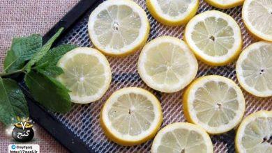 تصویر از روشی آسان برای خشک کردن لیمو در خانه