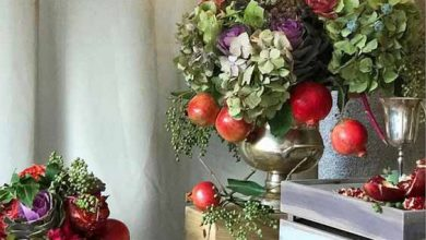 تصویر از تزیین سبد گل شب یلدا با ایده های بسیار جذاب
