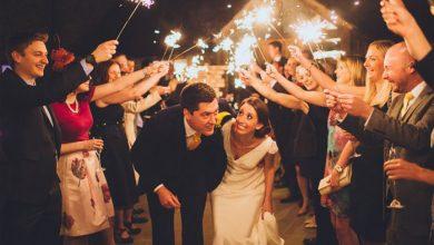 تصویر از ۱۷ ایده جذاب برای ورود عروس و داماد به تالار