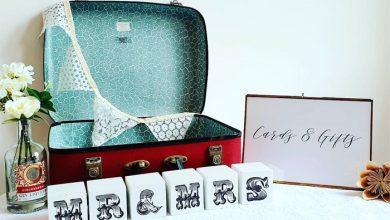 تصویر از تزیین چمدان عروس و داماد با ایدههای خلاقانه و تشریفاتی