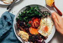 کاسه صبحانه ساده اما خوب (20 دقیقه!)