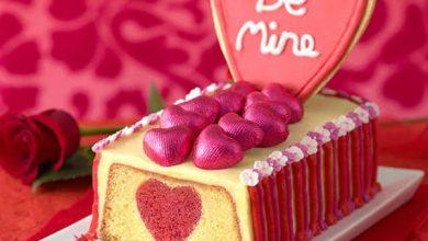 تصویر از کیک ولنتاین قرمز و 9 مدل کیک زیبای مخصوص روز ولنتاین