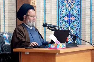 تصویر از دوره شبهه شناسی و پاسخ به شبهات با حضور آیت الله حسینی قزوینی در مشهد مقدس برگزار شد