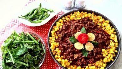 تصویر از طرز تهیه خوراک جگر به ساده ترین و خوشمزه ترین روش