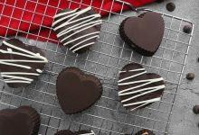 تصویر از طرز تهیه شکلات قلبی ولنتاین: آموزش مرحله به مرحله و تصویری شکلات قلبی