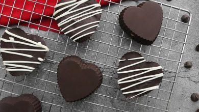 طرز تهیه شکلات قلبی ولنتاین: آموزش مرحله به مرحله و تصویری شکلات قلبی