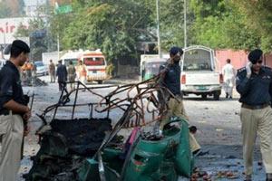 تصویر از کشته شدن ۸ نفر در انفجار در کویته پاکستان