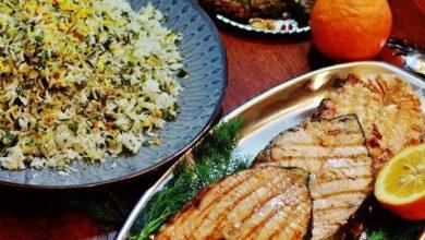 تصویر از آموزش طرز تهیه سبزی پلو با ماهی غذای مخصوص شب عید