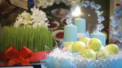تصویر از پیامک و اس ام اس کرونایی تبریک عید نوروز