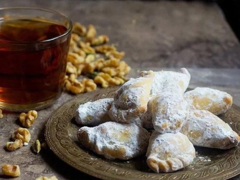 آموزش طرز تهیه قطاب یزدی شیرینی اصیل ایرانی در خانه بانوی شهر