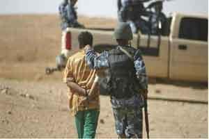تصویر از خطرناکترین قاچاقچی داعش در عراق دستگیر شد