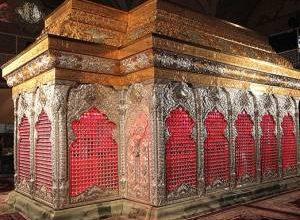تصویر از چرا ضریح امام حسین شش گوشه است؟