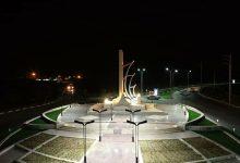تصویر از میدان ورودی شهر بندر سیراف| تصاویر