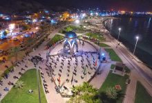 مراسم عزاداری شب تاسوعای حسینی بندر سیراف | تصاویر