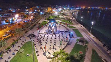 تصویر از مراسم عزاداری شب تاسوعای حسینی بندر سیراف | تصاویر