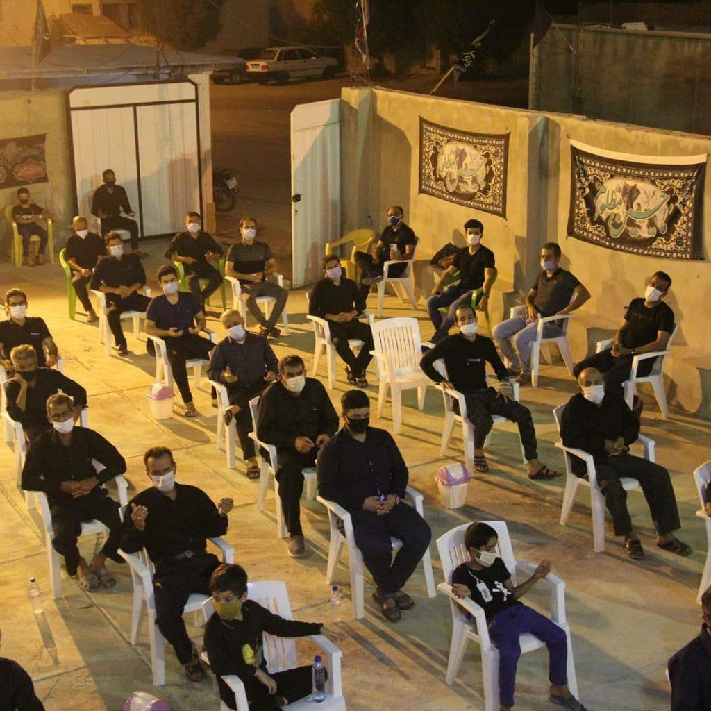 شب تاسوعای حسینی بندر سیراف