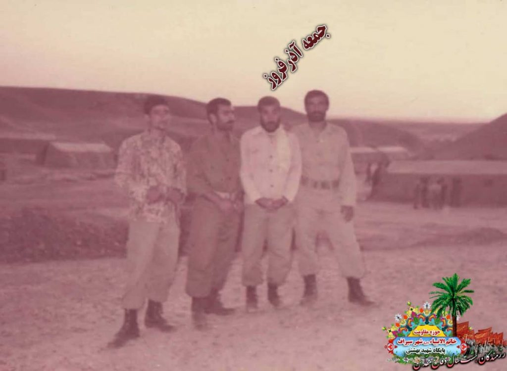 IMG 20200928 WA0012 1024x750 - تصاویری از حضور رزمندگان سیرافی در دوران هشت سال دفاع مقدس