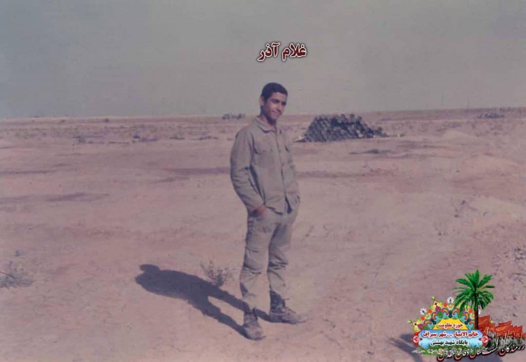 IMG 20200928 WA0029 1024x705 - تصاویری از حضور رزمندگان سیرافی در دوران هشت سال دفاع مقدس