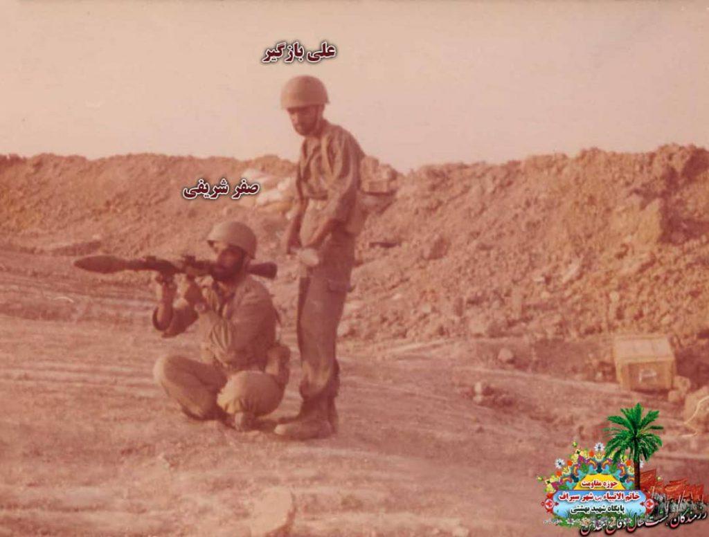 IMG 20200928 WA0036 1024x776 - تصاویری از حضور رزمندگان سیرافی در دوران هشت سال دفاع مقدس