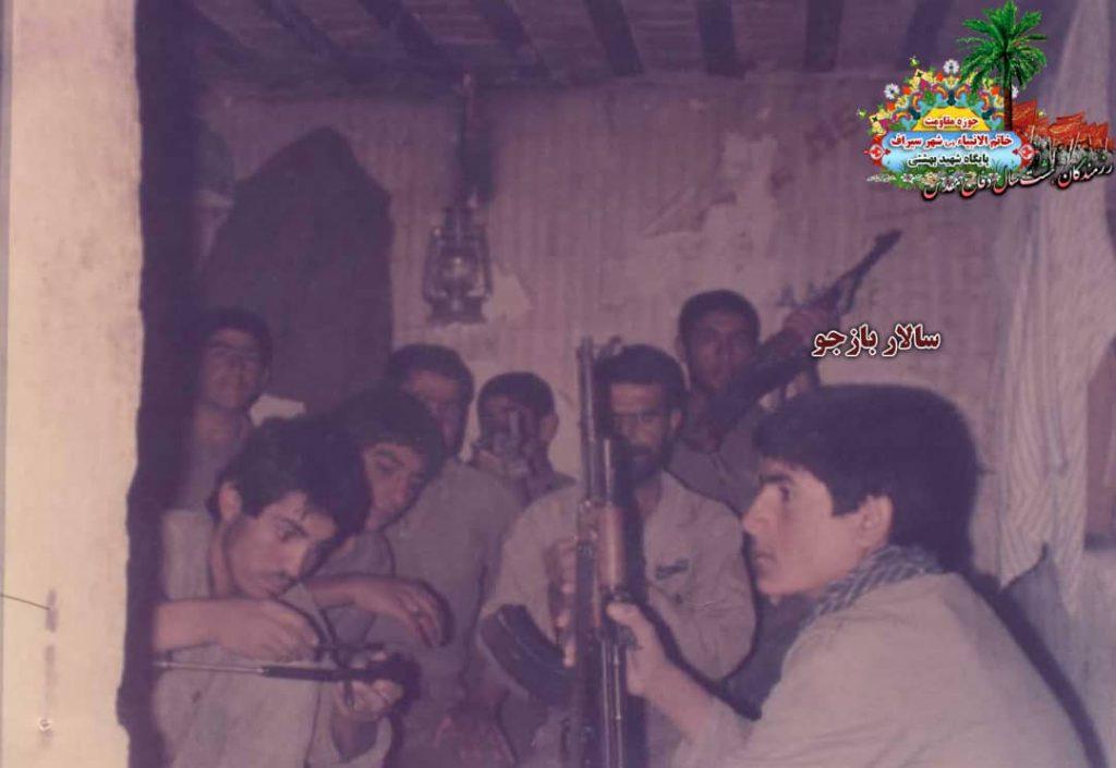 IMG 20200928 WA0040 1024x705 - تصاویری از حضور رزمندگان سیرافی در دوران هشت سال دفاع مقدس