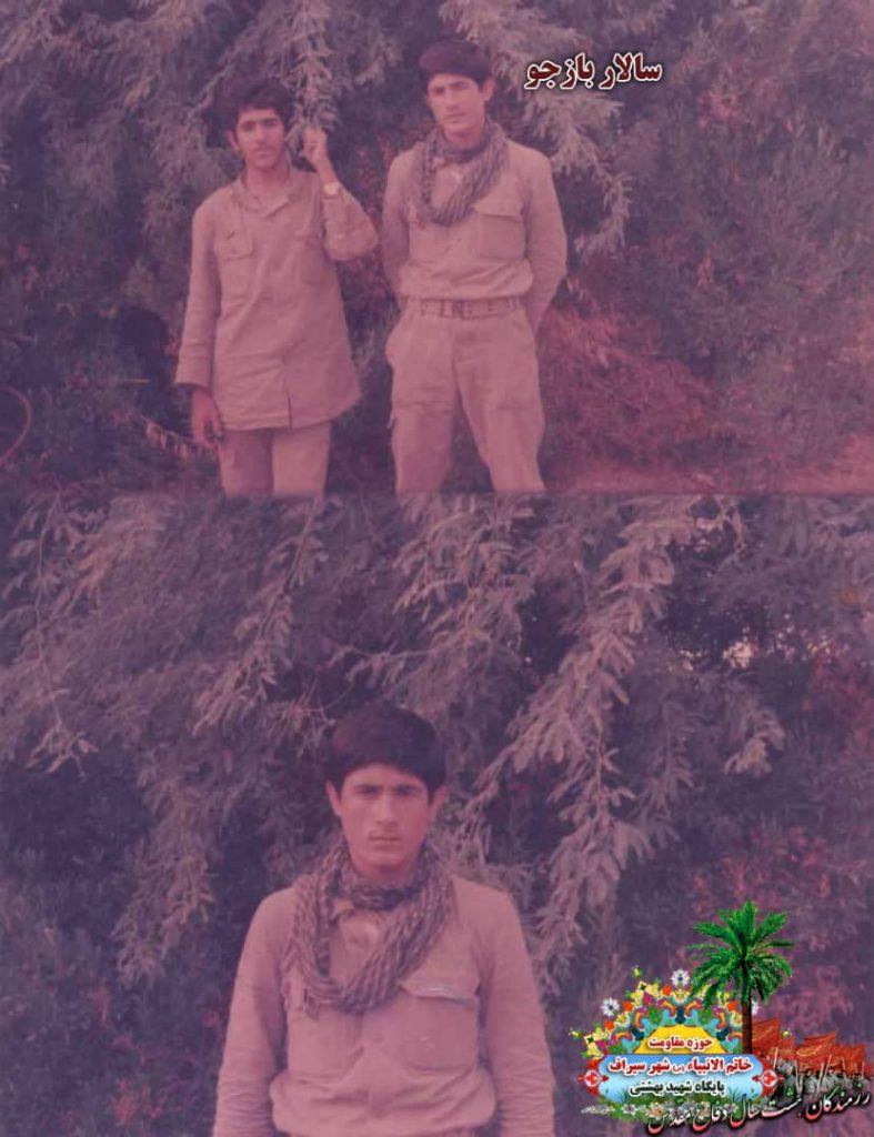 IMG 20200928 WA0058 787x1024 - تصاویری از حضور رزمندگان سیرافی در دوران هشت سال دفاع مقدس