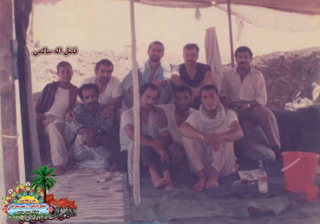 IMG 20200928 WA0070 1024x717 - تصاویری از حضور رزمندگان سیرافی در دوران هشت سال دفاع مقدس