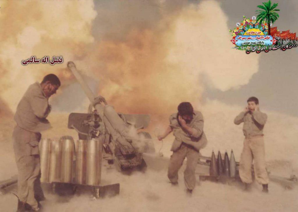 IMG 20200928 WA0091 1024x729 - تصاویری از حضور رزمندگان سیرافی در دوران هشت سال دفاع مقدس