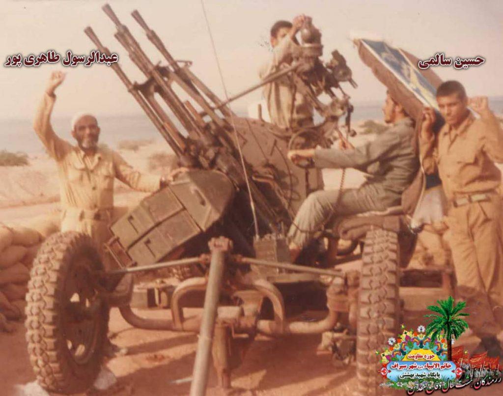 IMG 20200928 WA0097 1024x806 - تصاویری از حضور رزمندگان سیرافی در دوران هشت سال دفاع مقدس