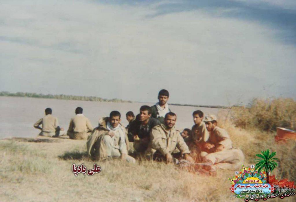 IMG 20201001 WA0030 1024x701 - تصاویری از حضور رزمندگان سیرافی در دوران هشت سال دفاع مقدس