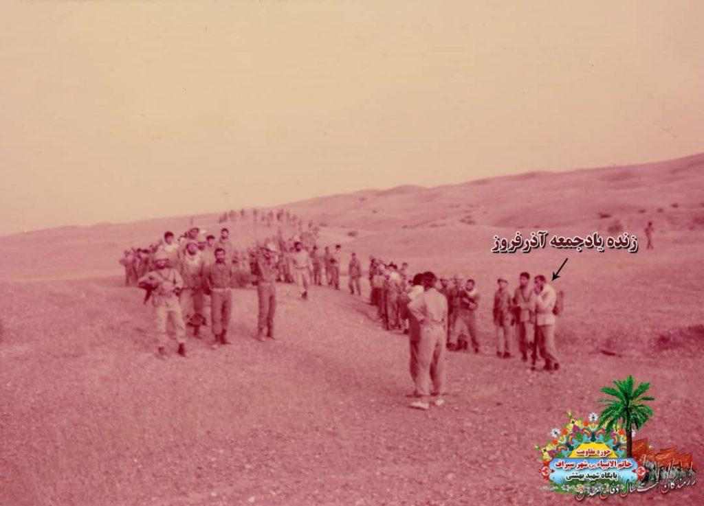 IMG 20201001 WA0084 1024x737 - تصاویری از حضور رزمندگان سیرافی در دوران هشت سال دفاع مقدس