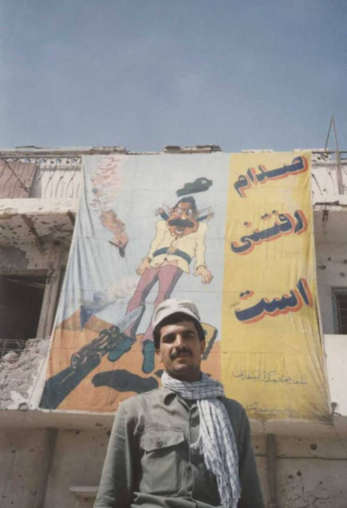 تصاویری از حضور رزمندگان سیرافی در دوران هشت سال دفاع مقدس