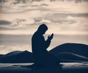 دلیل کشیدن دستها روی صورت بعد دعا