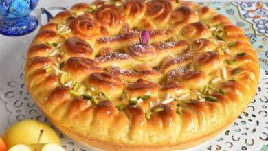 طرز تهیه نان شیرمال خانگی خوشمزه و پف دار به روش ترکیه ای