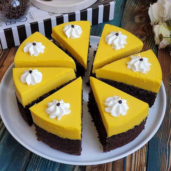طرز تهیه کیک زبرا امتحان شده پف دار و خوشمزه دو رنگ