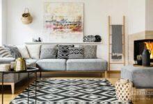 فرش برای خانه | انتخاب فرش برای خانه | مدل فرش پذیرایی | فرش اتاق پذیرایی