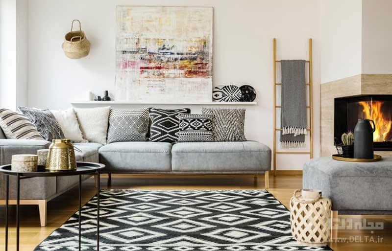 فرش برای خانه   انتخاب فرش برای خانه   مدل فرش پذیرایی   فرش اتاق پذیرایی