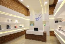 طراحی داخلی فروشگاه تک پلی کپی
